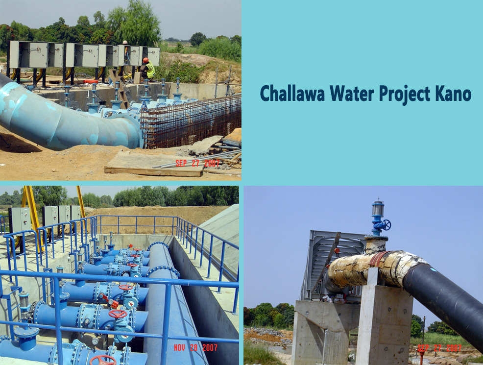 CHALLAWA WATER PROJECT KANO