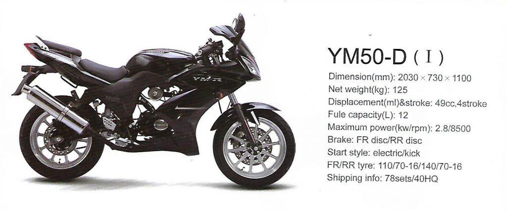 YM50-D HONDA