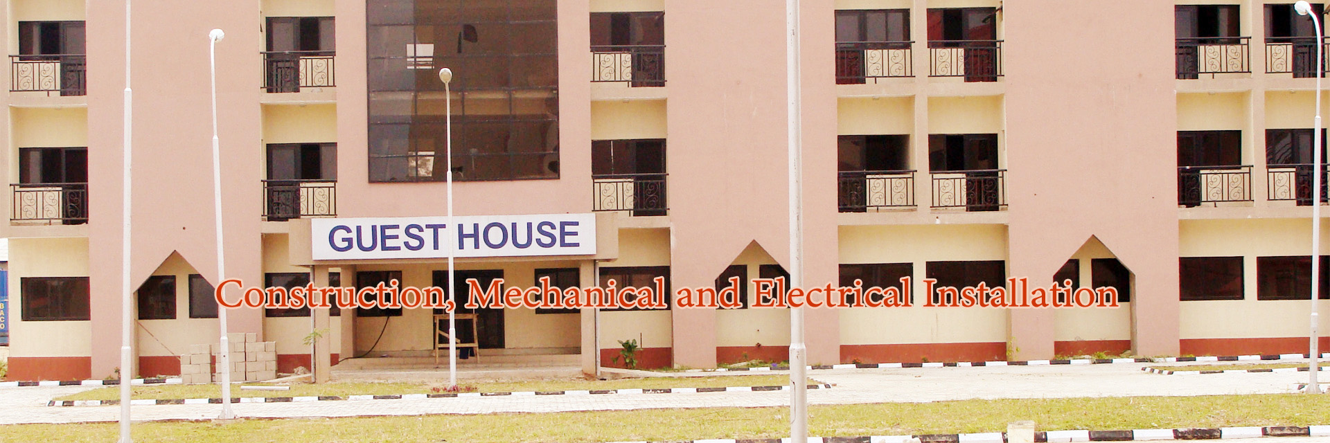 Building Construction, Mechanical and Electrical Installation